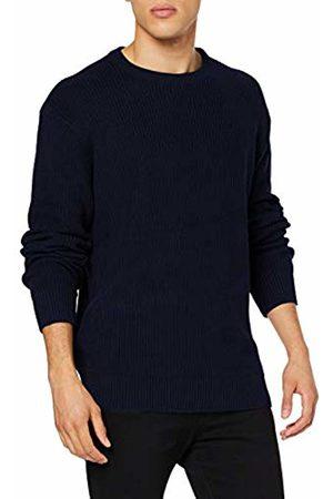 Urban classics Men's Cardigan Stitch Sweater Jumper