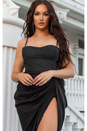 PRETTYLITTLETHING Structured Corset Top
