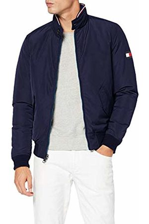 Tommy Hilfiger Men's Reversible Down Harrington Jacket, ( Quartz 439)