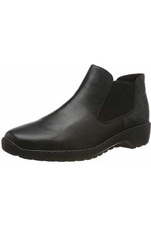 Rieker Women's Herbst/Winter Chelsea Boots, Schwarz 03