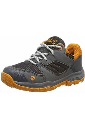 Jack Wolfskin Unisex Kids' MTN Attack 3 Xt Texapore Low K Rise Hiking Shoes, (Ebony/ 6243)