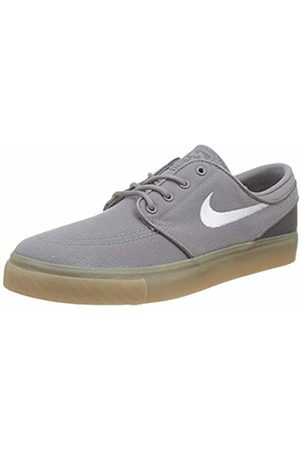 Nike Boys' Stefan Janoski (gs) Skateboarding Shoes, (Gunsmokesea/ /Thunder /Gum Lt 025)