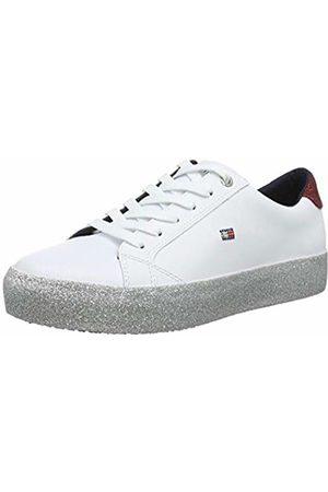 Tommy Hilfiger Women's Corporate Crystal Dress Sneaker Low-Top