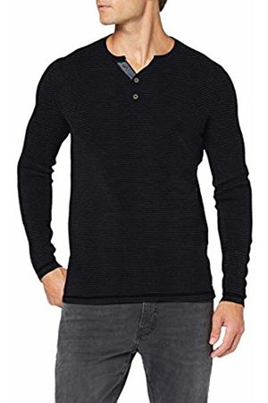 Tom Tailor Men's Feinstrick Henley Jumper