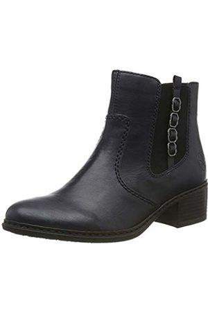 Rieker Women's Herbst/Winter Chelsea Boots, (Navy 14)