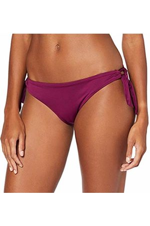 Seafolly Women's Loop Tie Side Hipster Bikini Bottoms, Boysenberry