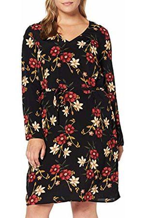 JUNAROSE Women's Jrmalenakeenan Ls Above Knee Dress - K AOP: Flowers