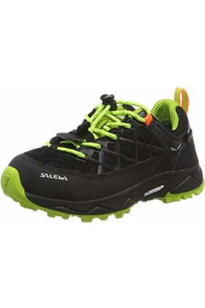 Salewa Unisex Kids' Jr Wildfire Wp Low Rise Hiking Shoes, ( Out/Cactus 986)