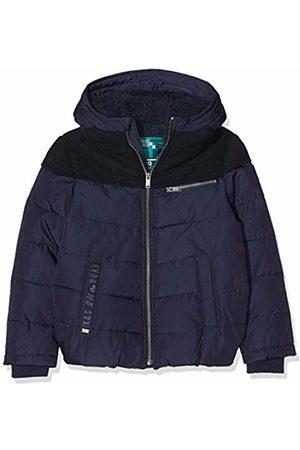 IKKS Boy's Doudoune Bi Matiere Navy Raincoat, 48