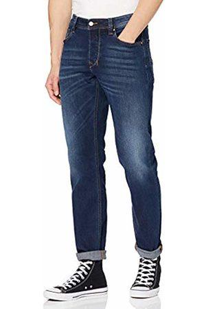 Diesel Men's Larkee Beex-00su1x-087as Tapered Fit Jeans, (Dark 087as)