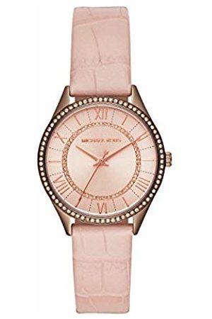 Michael Kors Women's Analogue Quartz Watch with Leather Strap MK2722