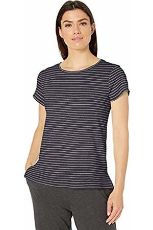 Amazon Lightweight Lounge Terry Short-Sleeve Relaxed-Fit T-Shirt Night