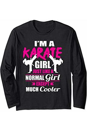 Karate Exercise Teez I'm A Karate Girl Like A Girl But Cooler Long Sleeve T-Shirt