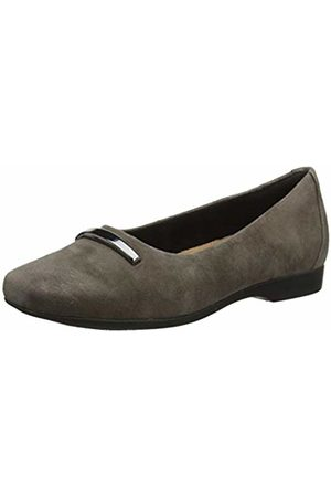 Clarks Women's Un Darcey Way Loafers, Taupe Suede