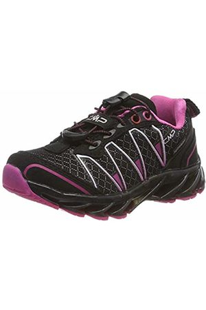 CMP Unisex Kids' Altak 2.0 Trail Running Shoes, ((Nero-Fuxia 50ud)