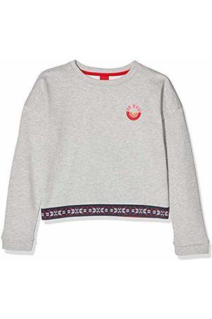 s.Oliver Girls' 66.909.41.2566 Sweatshirt, ( Melange 9400)