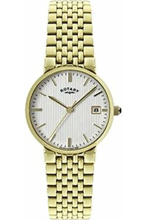 Rotary Men's Quartz Dial Analogue Display and Stainless Steel Bracelet GB00498/06