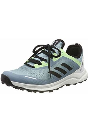 adidas Women's Terrex Agravic Flow W Cross Trainers, Ash S18/Core /Glow