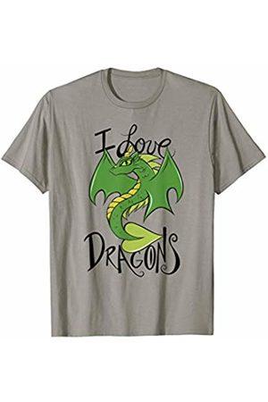 SnuggBubb I love dragons cute T-Shirt