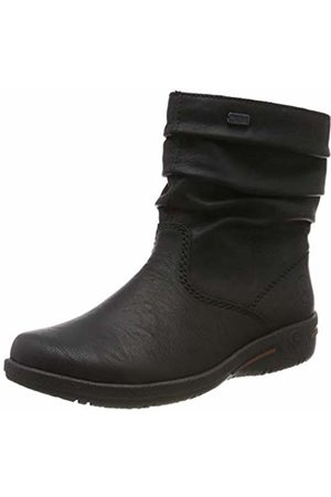 Rieker Women's Herbst/Winter Ankle Boots, (Schwarz 01)