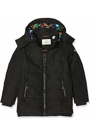 Scotch&Soda Boy's Jacket with Printed Zippers and Detachable Hood 008