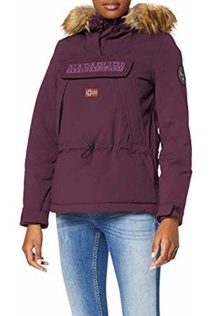 Napapijri Women's Skidoo WOM EF 2 Jacket, ( Wine V01)