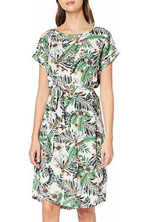 Vero Moda Women's Vmava Plain Ss Knee Dress VMA AOP/Color