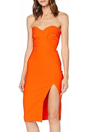 Vesper Women's Mindy Party Dress, ( Ff4d00)
