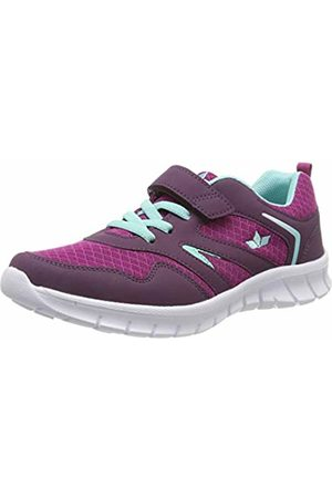LICO Women's Skip Vs Low-Top Sneakers, Lila/Türkis