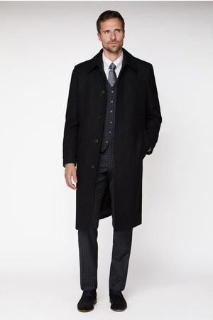 Jeff Banks Roma Overcoat Regular Fit