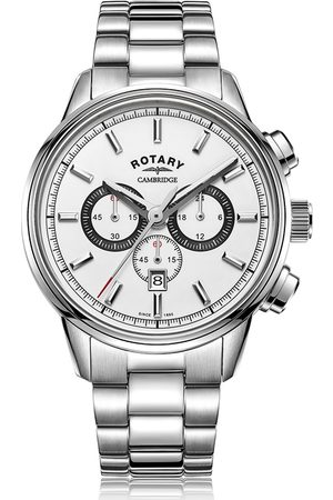 Rotary Watches Rotary Mens Cambridge Watch With White Dial