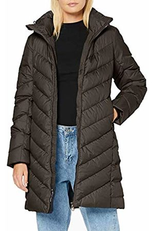 G-Star Women's Whistler Slim Down Hooded Long Coat