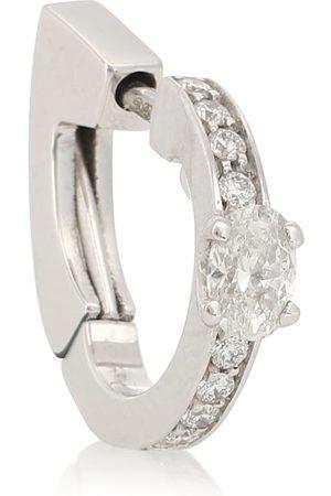 Repossi Harvest 18kt white gold and diamond single earring