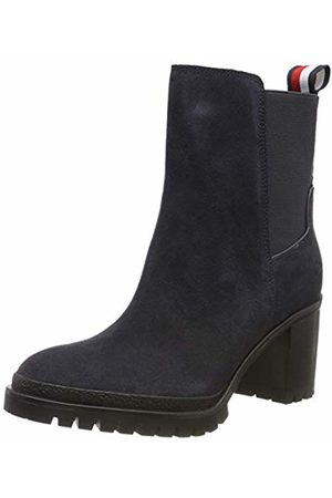 Tommy Hilfiger Women's Sporty Mid Heel Chelsea Ankle Boots