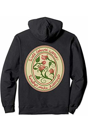 SnuggBubb Well behaved women rarely make history feminism Pullover Hoodie