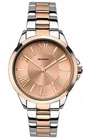 Sekonda Womens Analogue Classic Quartz Watch with Stainless Steel Strap 2790.27