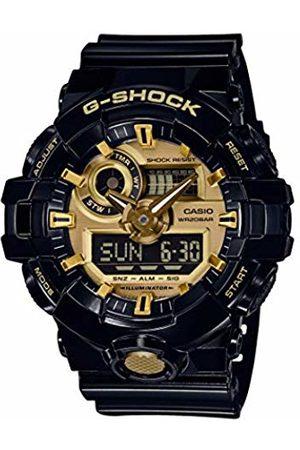 Casio Men's Multi-Dial Quartz Watch with Resin Strap GA-710GB-1AER