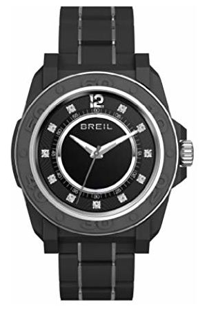 Breil Women's Quartz Watch with Dial Analogue Display and PU Bracelet TW0837