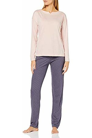 Huber Women's Damen Pyjama Lang New Romance Sets