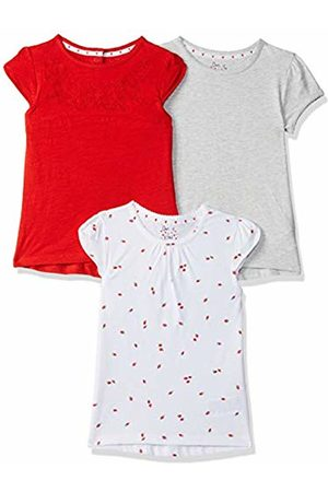 Mothercare Girl's Red 3Pk T-Shirt