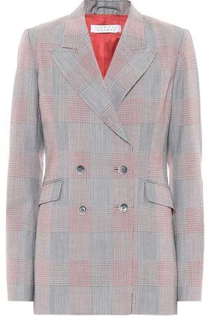 GABRIELA HEARST Women Winter Jackets - Exclusive to Mytheresa – Angela checked wool blazer