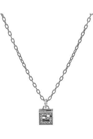 Gucci Gucci G Cube Pendant Necklace