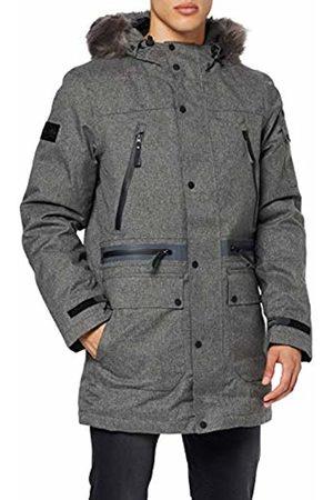 Superdry Men's Waterproof Premium Ultimate Down Parka Jacket, ( Marl Q)