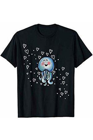 SnuggBubb Cute Octopus Love T-Shirt