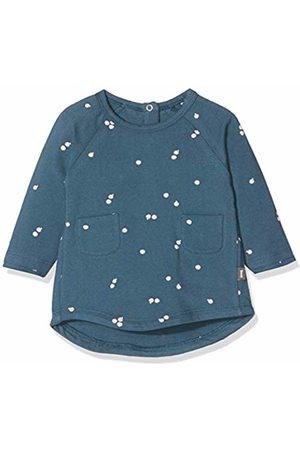 Imps & Elfs Baby Girls' Dress Long Sleeve (Blueorion AOP Apples P)