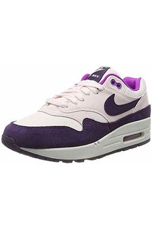 Nike Women's WMNS Air Max 1 Running Shoes, (Lt Soft /Grand /Hyper Violet/Summit 610)