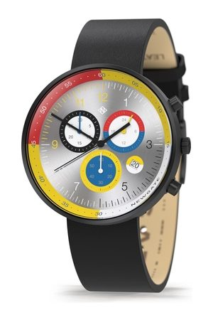 Newgate G6 Monaco - Mens Chronograph Watch - Red Yellow