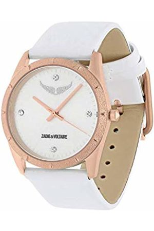 Zadig & Voltaire Womens Quartz Watch with Leather Strap ZVF1012