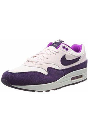 Nike Women's WMNS Air Max 1 Running Shoes, (Lt Soft /Grand -Hyper Violet-Summit 610)