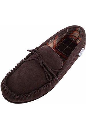 Snugrugs Men's George Low-Top Slippers, Dark